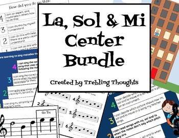 La, Sol & Mi Center Bundle