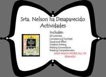 La Srta.Nelson Ha Desaparecido Actividades