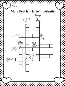 Saint Valentin Mots Croisés Mots Fléchés Et Mots Cachés