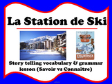 La Station de Ski - Savoir vs Connaître (French winter sports)