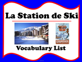 La Station de Ski - Les Sports d'hiver (French winter sport vocabulary)