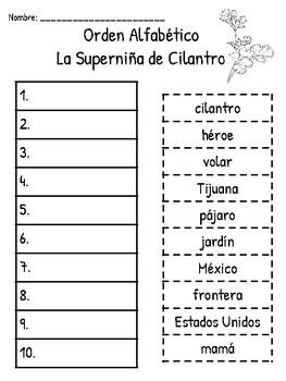 La Superniña de Cilantro