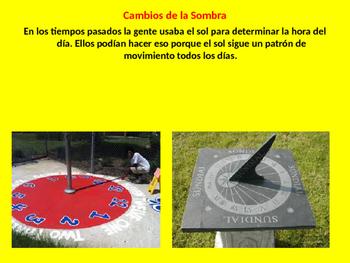 La Tierra-Orbitar y Rotacion Spanish PowerPoint