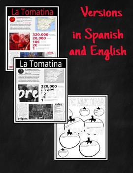 La Tomatina- Reading, Comprehension ?s & Graphic Organizer