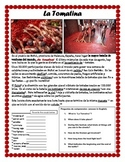 La Tomatina Spanish Culture (reading comprehension)