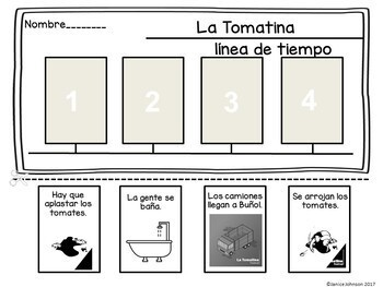 La Tomatina – Spanish Festival Reader & Vocabulary Pack {Bilingual version}