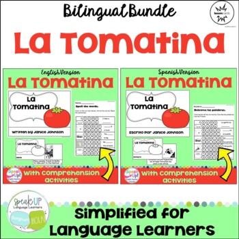 La Tomatina – Spanish Festival Reader & Vocabulary Pack {Bilingual Bundle}