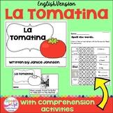 La Tomatina, Spanish Festival Reader & Vocabulary Pack ~ English Version