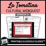 La Tomatina Webquest (Google Drive & Printable)