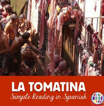 La Tomatina simple reading in Spanish