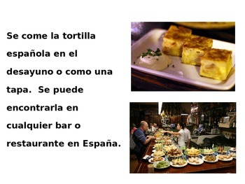 La Tortilla Espanola to Practice Impersonal SE with cooking video