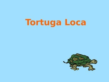 La Tortuga Loca - Prepositions game