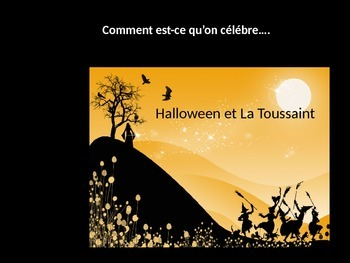 La Toussaint and Halloween French Culture