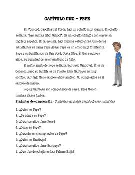 La Vida de Pepe - Capítulo 1 (Spanish Reader)