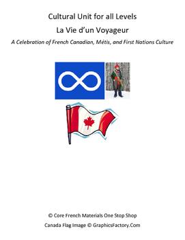 La Vie d'Un Voyageur Cultural Unit Bundle