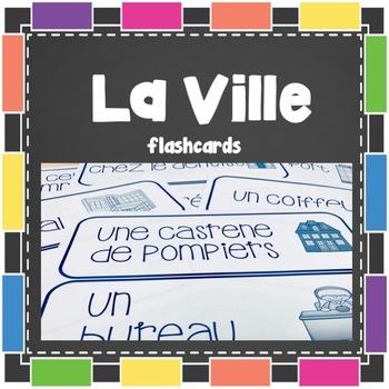 La Ville - Flashcards