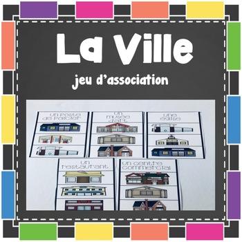 La Ville - Jeu d'association