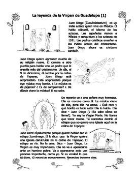 La Virgen de Guadalupe - La leyenda