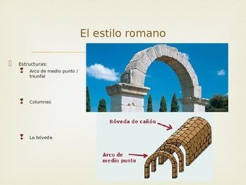 La arquitectura española PowerPoint Presentation