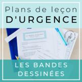 French Emergency Sub Plans / Plan de leçon d'urgence : Les