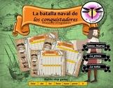 Spanish irregular verbs present : La batalla de los conquistadores- Battleship