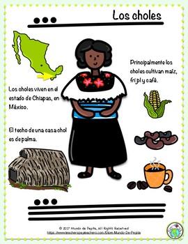 La boda de la ratoncita A Mayan Legend in Spanish Minibook & Activity Pack