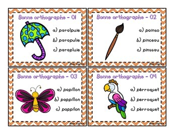 La bonne orthographe - 3e année - Miss Caprice