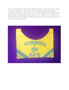 HIstoire pour la rentrée - La  boîte de crayons de cire - Back to School Story
