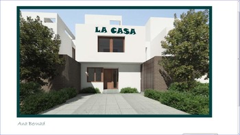 La casa 3 - learning about the house in Spanish