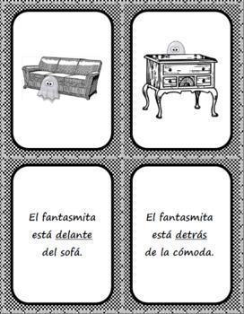 La casa - Preposiciones de lugar - Matching & Memory Game Cards