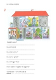 La casa/ Rooms in the house-italian (elementary)