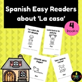 La casa (Spanish Easy Readers Books about house)