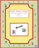 """Spanish House – Spanish Rap-like Chant with exercises and MP3 from """"Cantos"""""""