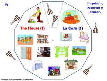 La casa / The house in Spanish