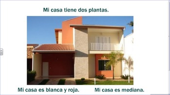 La casa 5 - learning about the house in Spanish