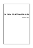 La casa de Bernarda Alba (guía)-The house of Bernarda Alba