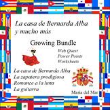La casa de Bernarda Alba y mucho más por Federico García Lorca Bundle