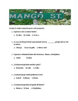 La casa en Mango Street test
