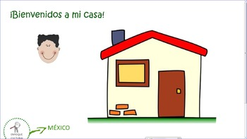 La casa: learning about the house in Spanish