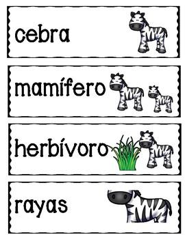 La cebra (Zebras)