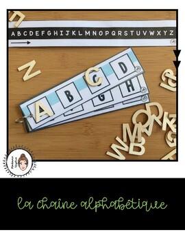 La chaîne alphabétique