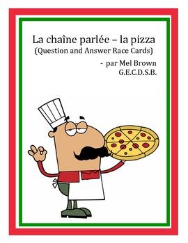 La chaîne parlée - La pizza
