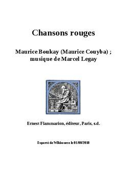 La chanson de l'aiguille - Song for Impressions of Paris