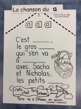 """La chanson du son """"a"""" - FRENCH - Song for the sound """"a"""""""