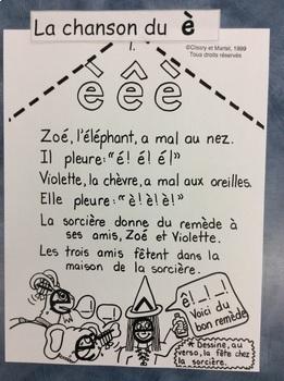 """La chanson du son """"è""""- FRENCH- Song for the sound """"è"""""""