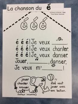 "La chanson du son ""é""- FRENCH- Song for the sound ""é"""