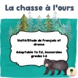 La chasse à l'ours une - une étude de drame et de français pour divers niveaux