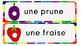 La chenille qui fait des trous par Eric Carle - French Voc