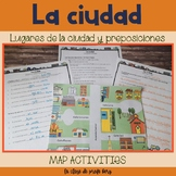 La ciudad y preposiciones The city and prepositions map ac
