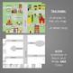 La ciudad y preposiciones The city and prepositions map activities
